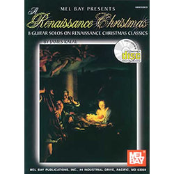 Music Renaissance Xmas w/CD (solo guitar)