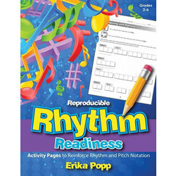 Reproducible Rhythm Readiness - Grades 2-6