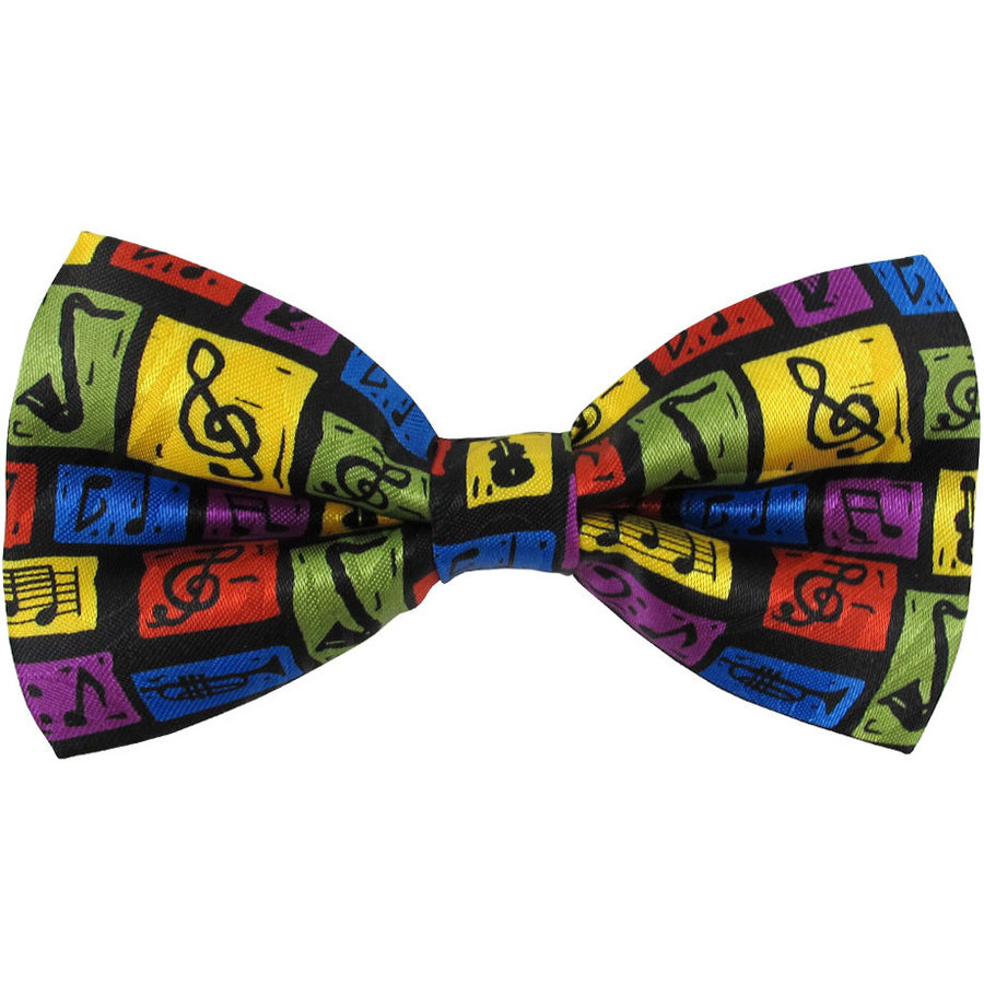View larger image of Music Scenes Bow Tie