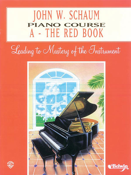 View larger image of John W. Schaum Piano Course, A: The Red Book