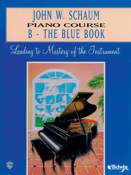 View larger image of Schaum Piano Course B - Blue Book