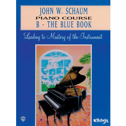 Schaum Piano Course B - Blue Book