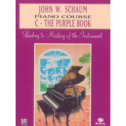 Schaum Piano Course C - Purple Book