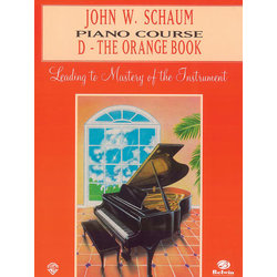Schaum Piano Course D - Orange Book