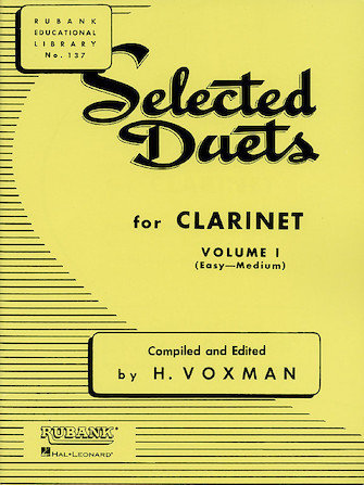 View larger image of Selected Duets for Clarinet Volume 1 - Easy to Medium