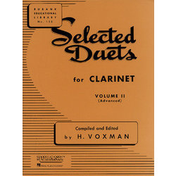 Selected Duets for Clarinet Volume 2 - Advanced