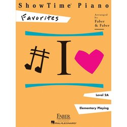 ShowTime Piano Level 2A - Favorites