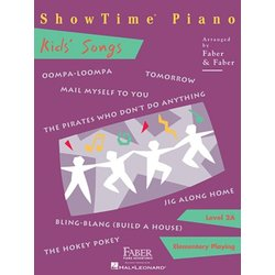 ShowTime Piano Level 2A - Kids Songs