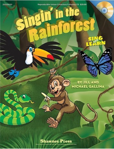View larger image of Music Singin in the Rainforest - Reproducible Collection w/CD