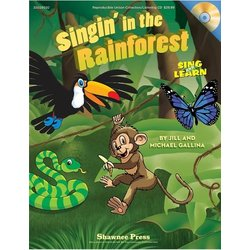 Music Singin in the Rainforest - Reproducible Collection w/CD