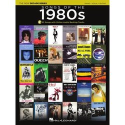 Songs of the 1980s -The New Decade Series (PVG) w/Online Audio