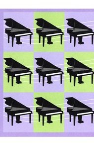 View larger image of Music Squares Note Cards - 8 Pack