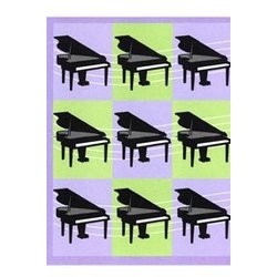 Music Squares Note Cards - 8 Pack
