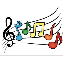 Music Staff Note Cards - 8 Pack