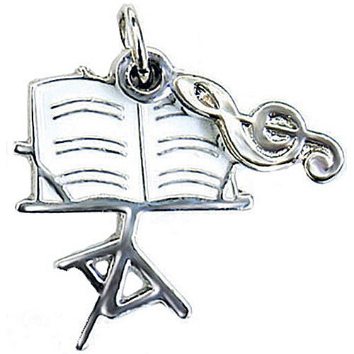 View larger image of Music Stand Charm/Zipper Pull
