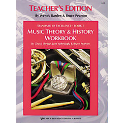 Standard of Excellence 1 - Theory & History Teacher
