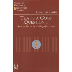 Music Thats A Good Question - How to Teach by Asking Questio