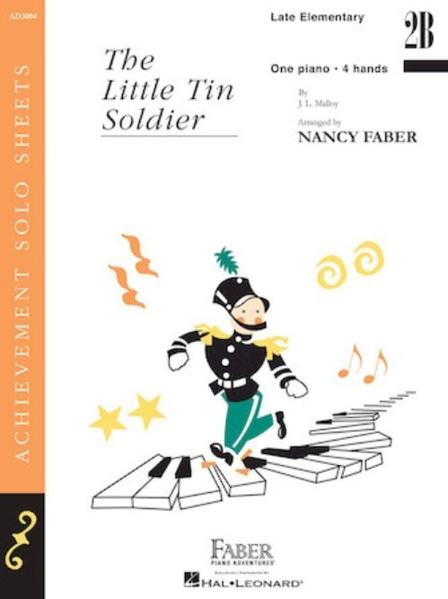 View larger image of The Little Tin Soldier (Late Elementary/Level 2B) - Piano Duet