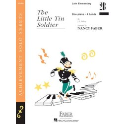 The Little Tin Soldier (Late Elementary/Level 2B) - Piano Duet