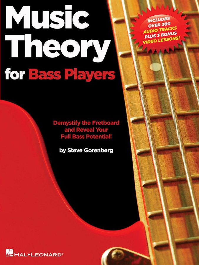 View larger image of Music Theory for Bass Players w/Online Audio