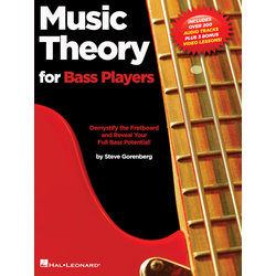 Music Theory for Bass Players w/Online Audio