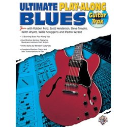 Ultimate Play-Along Guitar Trax: Blues w/CD
