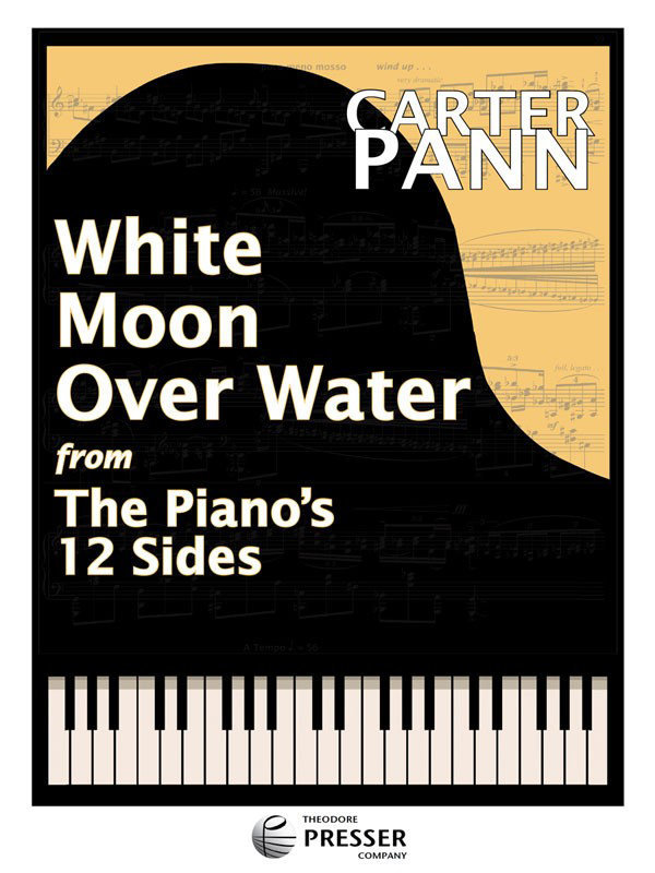 View larger image of White Moon Over Water - Piano