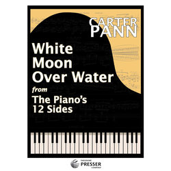 White Moon Over Water - Piano