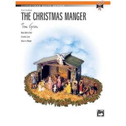 The Christmas Manger - Intermediate Piano Solo