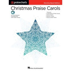 PraiseCharts - Christmas Praise Carols - Lead Sheet & Rhythm Charts w/Online Audio