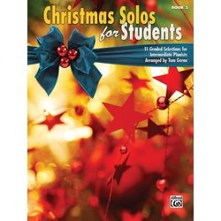 Christmas Solos for Students, Book 3 (Intermediate)