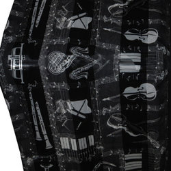 Musical Instruments Scarf - Black