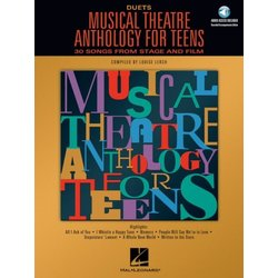 Musical Theatre Anthology for Teens - Duets w/Online Audio