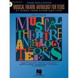 Musical Theatre Anthology for Teens - Young Men's Edition w/Online Audio