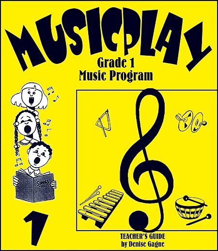View larger image of Musicplay Grade 1 - Teacher Guide w/4CD