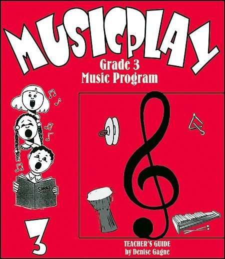 View larger image of Musicplay Grade 3 Teacher's Guide w/4 CD's