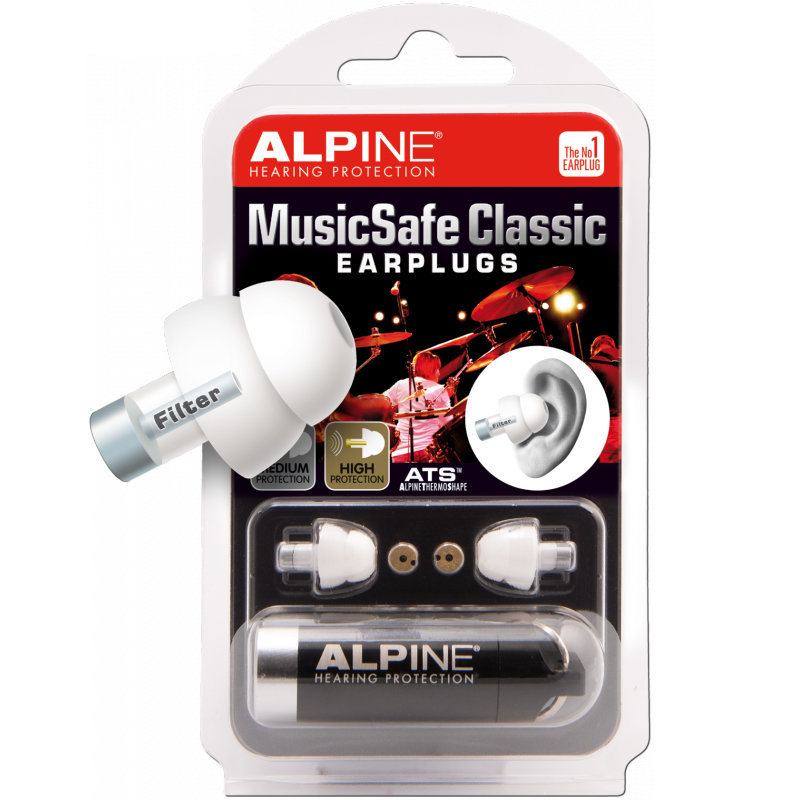 View larger image of MusicSafe Classic Ear Plugs