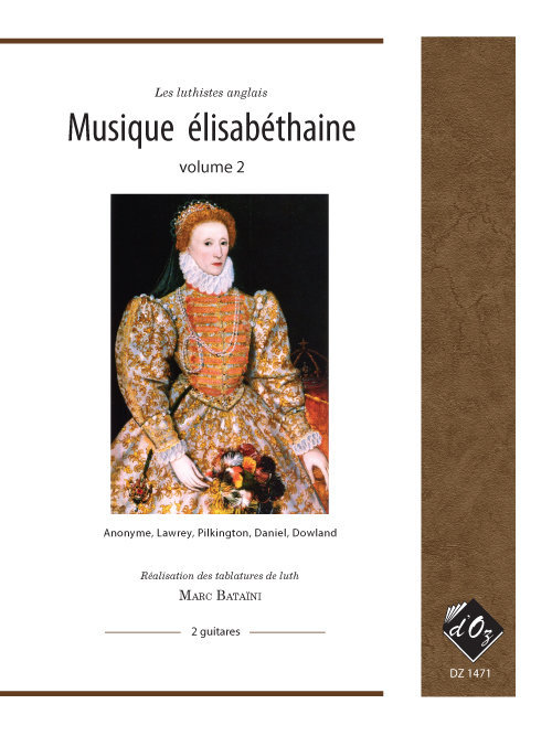 View larger image of Musique Elisabethaine, Vol.2 - Guitar Duet