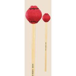 Musser 1 3/8 Red Yarn Mallers - Set of 4