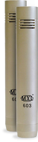 View larger image of MXL 603 Instrument Microphones - Silver, Pair