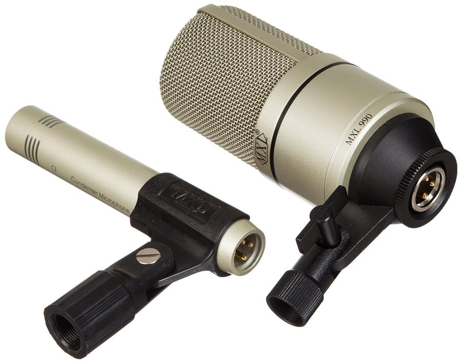 View larger image of MXL 990/991 Recording Microphone Package