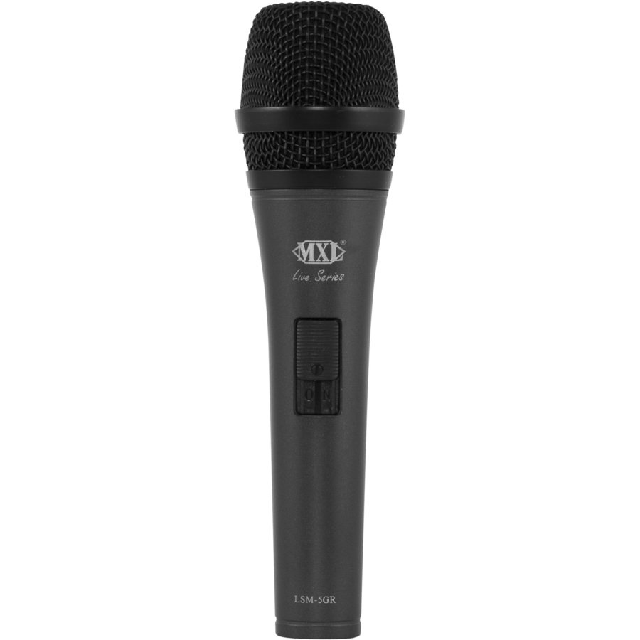 View larger image of MXL LSM-5GR Live Series Dynamic Microphone - Grey