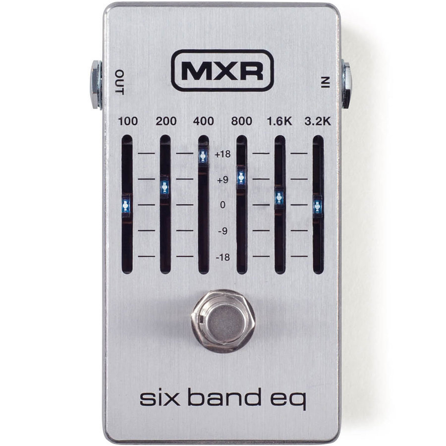 View larger image of MXR M109S 6-Band Equalizer Pedal