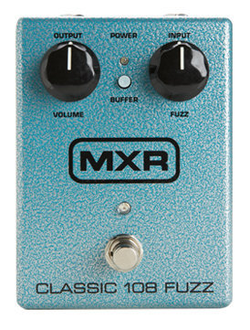 View larger image of MXR M173 Classic 108 Fuzz Pedal