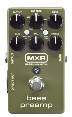 View larger image of MXR M81 Bass Preamp Pedal