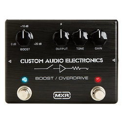 MXR MC402 Boost/Overdrive Pedal