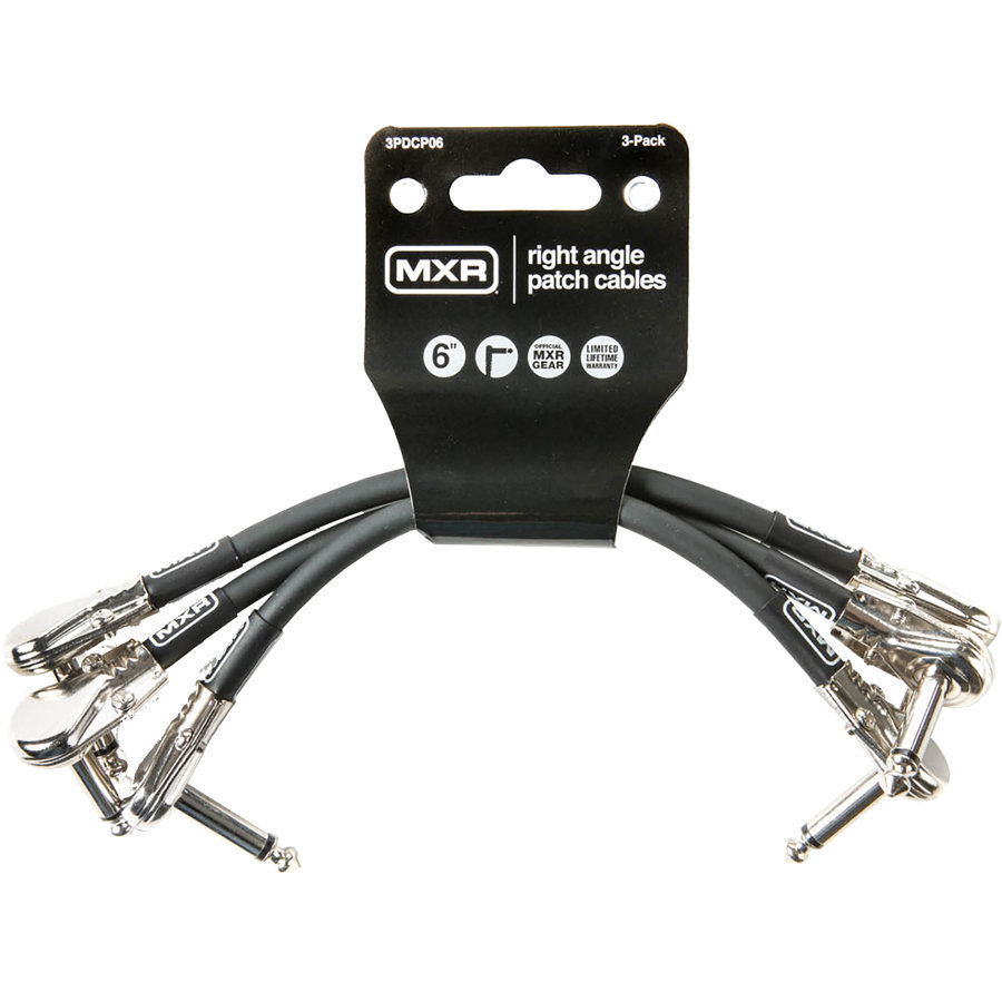 View larger image of MXR Pedalboard Patch Cables - 6, 3 Pack