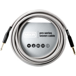 MXR Pro Series Woven Instrument Cable - Straight/Straight, 12'