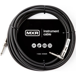 MXR Standard Instrument Cable - Straight/Right Angle, 20'