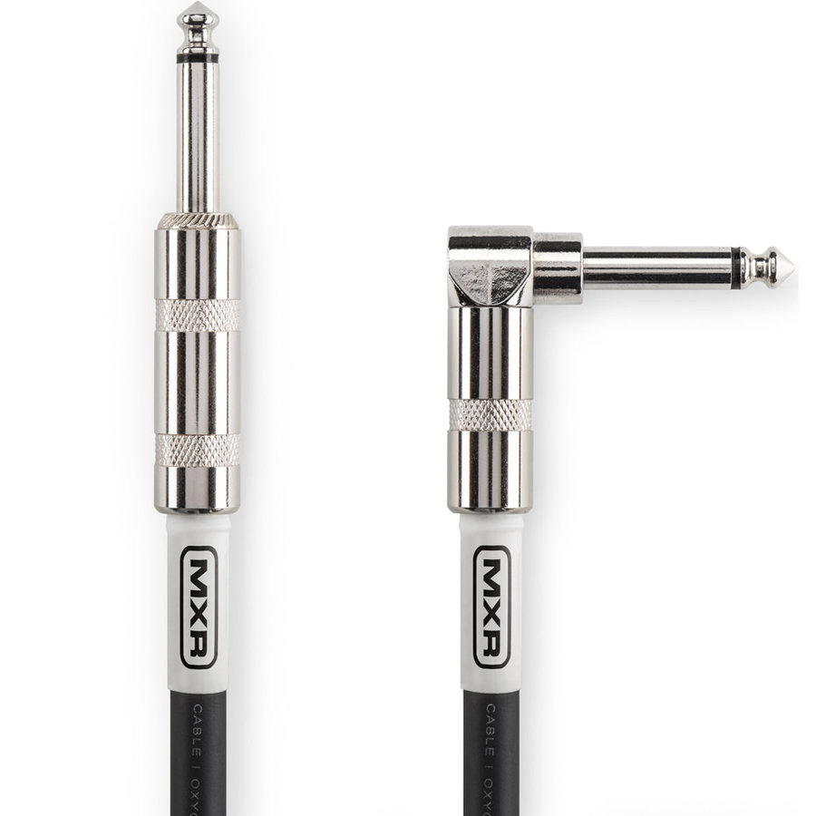 View larger image of MXR Standard Instrument Cable - Straight/Right Angle, 20'